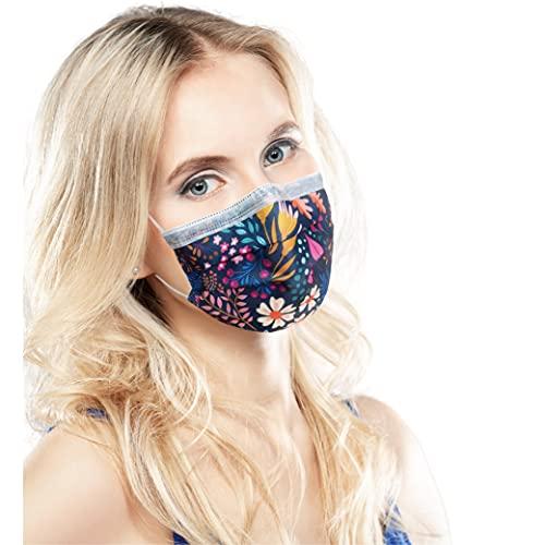 ALB Stoffe® ProtectMe - OP Masken FLOWER FIELD, 100% Made in Germany,...