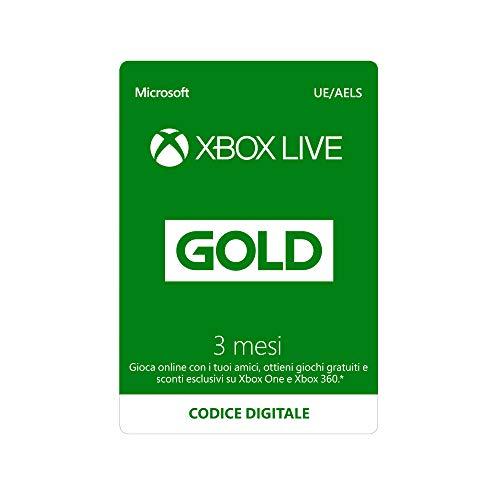 Abbonamento Xbox Live Gold - 3 Mesi | Xbox Live - Codice download