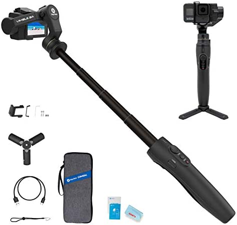 3 Axis Action Camera Gimbal Stabilizer for GoPro Hero 8 7 6 5 WiFi Connection Handheld Gimbal product image