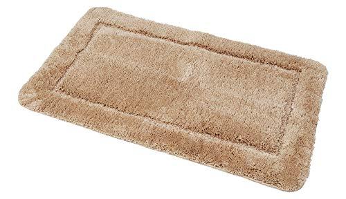 Tappetino da bagno, tappetino da doccia, tappetino da bagno, tappetino da bagno, tappeto per bagno, doccia, sauna, solarium, fitness, yoga, piscina, marrone, dimensioni 90 x 160 cm