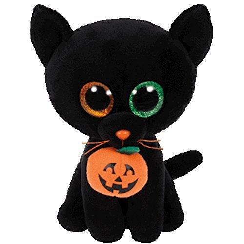 Ty Beanie Babies 37080 Boos Shadow the Halloween Black Cat Boo Buddy