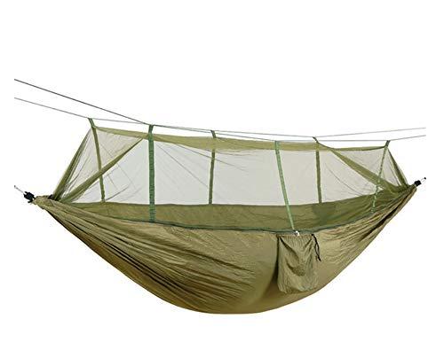 Générique Hamac de Camping Portable pour 1-2 Personnes en Toile de Parachute de Haute résistance à la Traction a