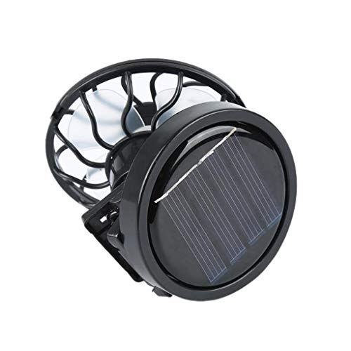 perfeclan Cappellino Portatile a Clip Ventilatore Solare Viaggi All'aperto Campeggio Sport Ventole...