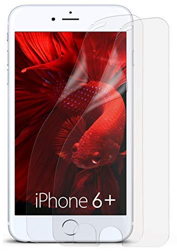 MoEx® Matte Anti Reflex Bildschirmschutzfolie passend für iPhone 6S Plus / 6 Plus | Gegen Reflexionen und Fett-Finger - Entspiegelt