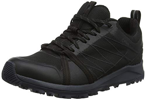 THE NORTH FACE Damen W Lw Fp Ii Gtx Trekking- & Wanderhalbschuhe, Green (Tnf Black/Ebony Grey Ca0), 36 EU
