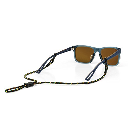 Croakies Terra Spec Adjustable Eyewear Retainer, Rasta, 12 Inch