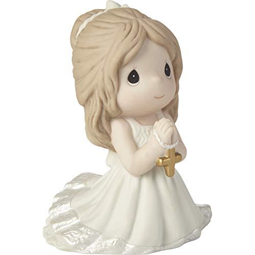 Precious Moments Estatueta de porcelana bisque Remembrance of My First Communion Girl 202017, tamanho único, multicolorido