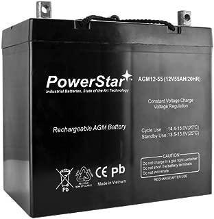 12V 55AH Car Stereo Battery Replace Stinger SPV44 SPP1200-2 Year Warranty