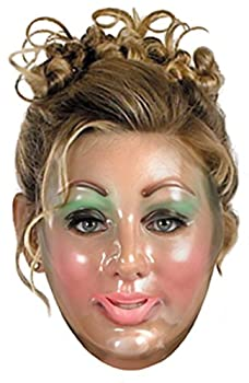 Disguise Costumes Transparent Woman Mask Adult