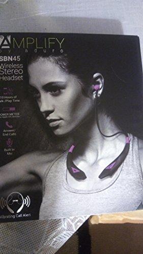 Aduro AMPLIFY Noise Canceling Echo Reduction Sport Sweatproof Stereo Bluetooth...