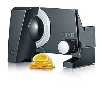 Graef S 10002 Cortafiambres alumio negro, 170 W, Aluminio
