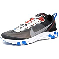Nike React Element 87 - Darke Grey/Pure Platinum Trainer Size 8 UK