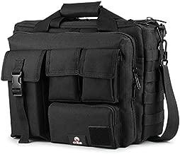 Tactical Briefcase, GES 15.6 Inch Men's Messenger Bag Military Briefcase for Men