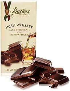 Butlers Dunkle Schokolade mit Irish Whiskey. 100g Tafel