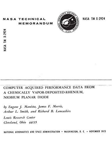 Computer acquired performance data from a chemically vapor-deposited-rhenium, niobium planar diode (English Edition)