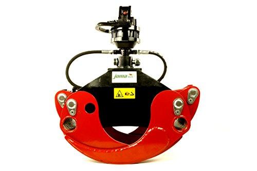 Forst- und Holzgreifer OG19 von Joma-Tech mit Finn-Rotator CR300 3to.
