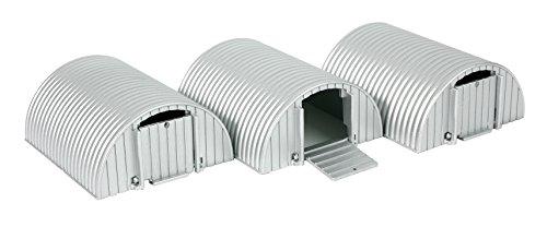 Britains - Bri42081 - Véhicule Miniature - Modèle À L'échelle - Abris À Cochons - Lot De 3 - Echelle 1/32