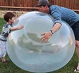 Vercico Bubble Ball Gigante, Bubble Balloon Water, Bubble Ball XXL Agua, Inflatable Bubble Ball, Bola de Burbujas Inflable para Adultos, Niños, Globo Transparente (Azul)