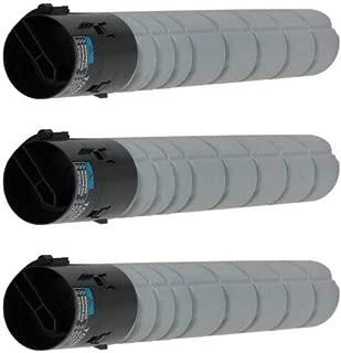 Tonerprice Compatible A33K030 TN322 Toner Cartridge 3 Pack, 24000 Page-Yield Per Ctg, Black