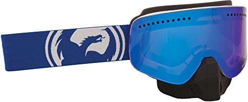 Dragon NFX Goggle Blue/White Split W/Blue ION. Lens