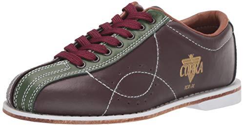 Ladies TCR3L Cobra Rental Bowling Shoes LacesBrown/Green 10 1/2
