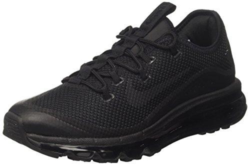 Nike Air Max More, Scarpe da Ginnastica Uomo, Nero (Black Black Black), 46 EU