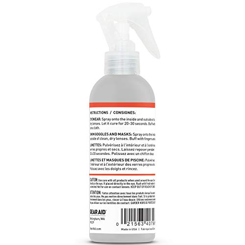 4144V7ETqxL - GEAR AID Anti-Fog Spray for Goggles, Masks and Eyeglasses, 4 fl oz, Clear