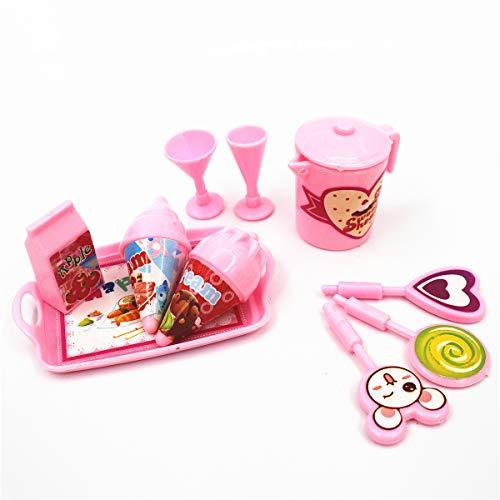 UYT Miniartikel Puppenzubehör für Blyth Barbi Puppe, 30 cm, Geschenk für Mädchen