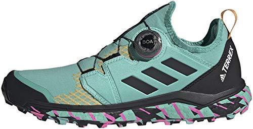 adidas Terrex Agravic Boa W, Zapatillas de Trail Running Mujer, MENACI/NEGBÁS/ROSCHI, 39 1/3 EU