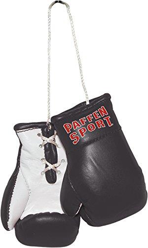 Paffen Sport Colour Mini Boxhandschuhe – Anhänger fürs Auto – schwarz/weiß
