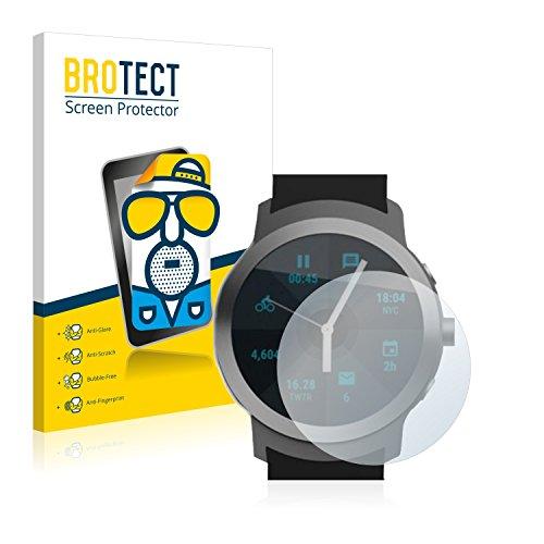 BROTECT 2X Entspiegelungs-Schutzfolie kompatibel mit LG Watch Sport Bildschirmschutz-Folie Matt, Anti-Reflex, Anti-Fingerprint
