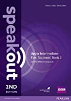 Speakout Upper Intermediate 2nd Edition Flexi Students' Book 2 with MyEnglishLab Pack