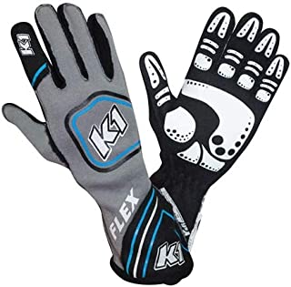 Racerdirect RJS Racing SFI 3.3//1 New Skeleton Racing Gloves Lemon//Black Size LG 600090150
