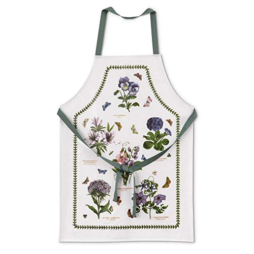 Portmeirion Home & Gifts - Grembiule in cotone, multicolore, 81 x 59 x 1 cm