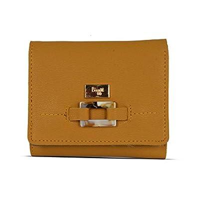 Baggit Autumn/Winter 2020 Faux Leather Women's 3 Fold Wallet (Yellow) (Chroma)