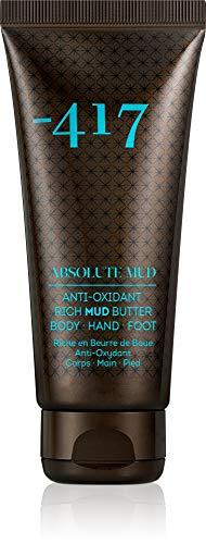 -417 Dead Sea Cosmetics - Beurre de boue riche corps, mains et pieds 3 en 1 - Hydratant nourrissant et raffermissant 100 ml -Absolute Mud Collection