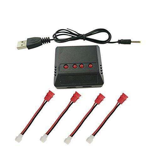 Drone Batteria Accessori per SYMA X5C X5S X5SC X5SW X5HW X5HC X5UW X5UC X21 X21W H107L H107C H107D V252 X5A X5A- 1 X15 X15C X15W X26 RC Aircraft 3. 7V Batteria al litio Balance Caricatore durevole