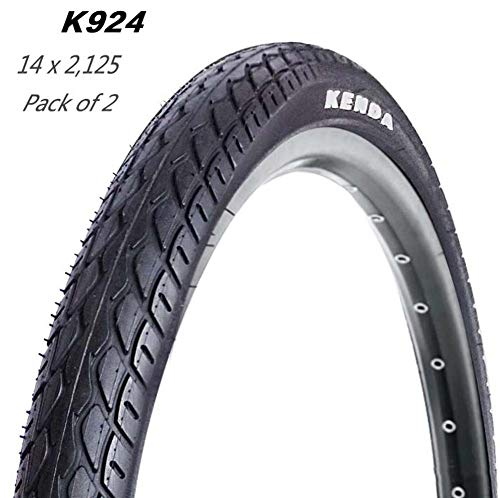 RZiioo Bicycle Tyres 14 X 2.125 for Kids Mountain Bike(Pack of 2)