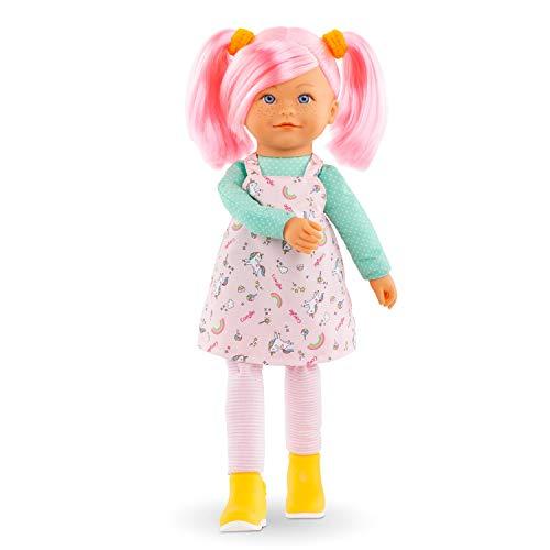 Corolle 9000300010 Rainbow Praline/Französische Puppe mit Charme und Vanilleduft/Schlenkerbeine / 40cm