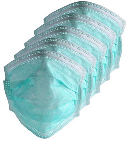 Zoelibat 97641341.001 - Mundschutz mit Ohrschlaufen, 5 Stück, Hygienemaske, Gesichtsmaske, Schutzmaske