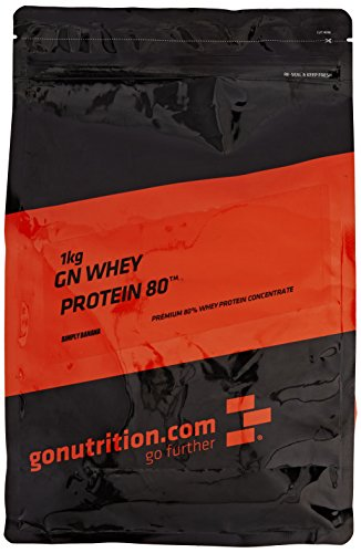 GoNutrition 1 kg Simply Banana GN Whey Protein 80 Powder