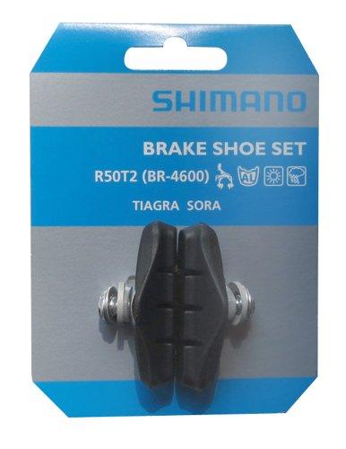 SHIMANO R50T2 Bremsschuhe, Schwarz, 60 mm