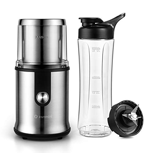 Coffee Grinder with Chopped Cup Set Fruit Grinder Bottle Set Electric Coffee Grinder Coffee Maker,Fruit Bottle Set