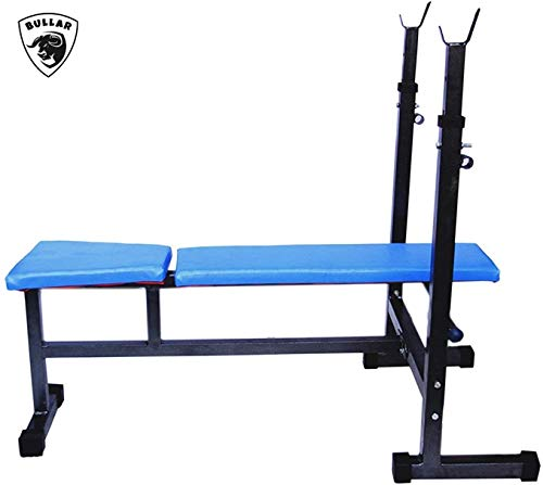 BULLAR Adjustable Bench, Strength Training Bench, Standard Weight Bench, Home Gym Bench, Multipurpose Home Gym Bench for Multiple Workouts and Strength Training (3 in 1 Gym Bench)