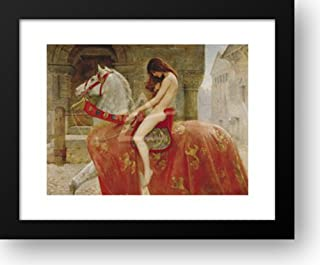 Lady Godiva 18x15 Framed Art Print by Collier, John