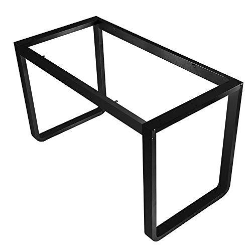 RVS Eettafel Been Tafel Werkbank Beugel Conferentie Tafelpoten Bureau Benen Eettafel Benen Computer Tafelpoten Mat zwart