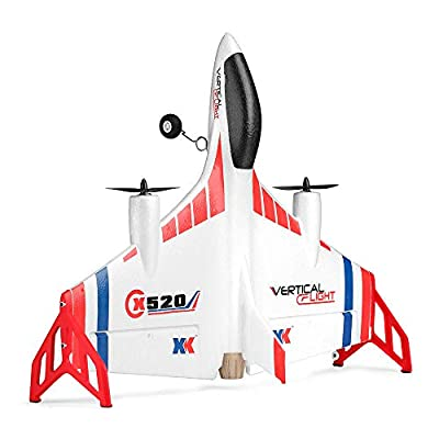 RC Airplane, Channel Remote Control RC Glider Vertical Takeoff Land Delta Wing Flying Aircraft
