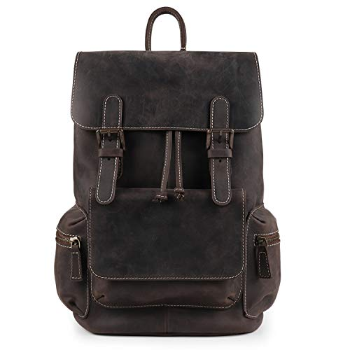 MegaGear Valley Genuine Leather Backpack