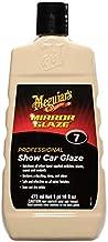 Meguiar's Mirror Glaze Show Car Glaze – Exceptional Polish Restores a Deep Wet Shine – M0716, 16 oz