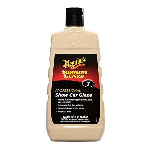 Meguiar's Mirror Glaze polishing compound